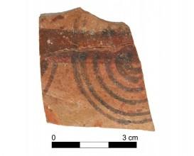 Ceramic vessel 20007-4. Burial mound 20. Cemetery of Tutugi