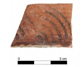 Ceramic vessel 20034-3. Burial mound 20. Cemetery of Tutugi