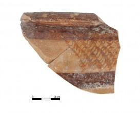 Ceramic vessel 140006-20. Burial mound 140. Cemetery of Tutugi