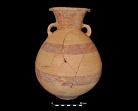 Ceramic vessel 207. Grave 271. Cemetery of La Noria.