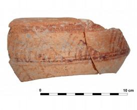 Ceramic vessel 3 close to grave I245. Cemetery of La Noria.