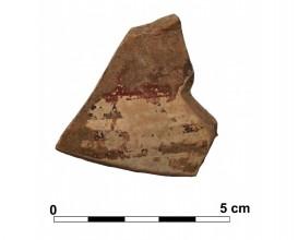 Ceramic vessel 1 close to grave 233. Cemetery of La Noria.