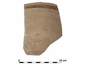 Ceramic vessel 3 close to grave 233. Cemetery of La Noria.