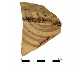 Ceramic vessel 26-2. Las Calañas.