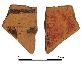 Ceramic vessel 27-2. Las Calañas.