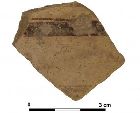 Ceramic vessel 28-2. Las Calañas.