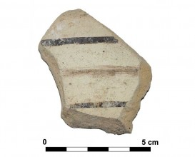 Ceramic vessel 35-4. Las Calañas.