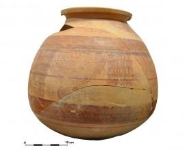 Ceramic vessel 1-13. Cerro de las Albahacas.