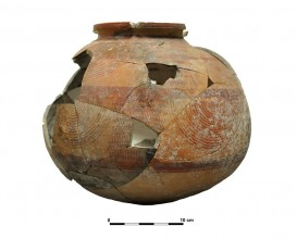 Ceramic vessel 12-13. Cerro de las Alhabacas