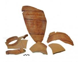 Ceramic vessel 4-13. Cerro de las Alhabacas