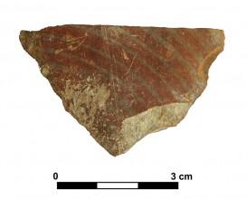 Ceramic vessel 1A-13. Cerro de las Alhabacas