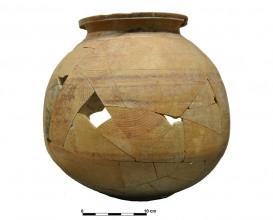Ceramic vessel 6-12. Cerro de las Alhabacas