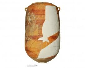 Ceramic vessel 1-12. Cerro de las Alhabacas