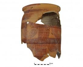 Ceramic vessel 5-12. Cerro de las Alhabacas