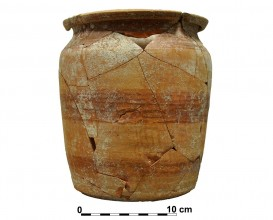 Ceramic vessel 2-12. Cerro de las Alhabacas