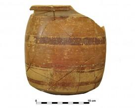 Ceramic vessel 1. Grave 36. Cemetery of Piquía