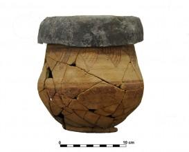 Ceramic vessel 2. Grave 2. Cemetery of Piquía