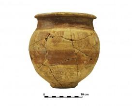 Ceramic vessel 3. Grave 51. Cemetery of Piquía