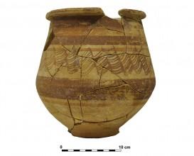 Ceramic vessel 4. Grave 64. Cemetery of Piquía