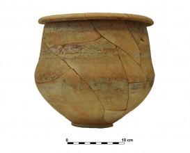 Ceramic vessel 5. Grave 66. Cemetery of Piquía