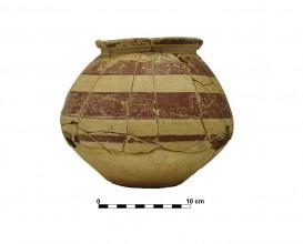 Ceramic vessel 6. Grave 66. Cemetery of Piquía