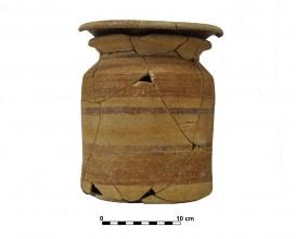 Ceramic vessel 7. Grave 16. Cemetery of Piquía