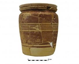 Ceramic vessel 8. Grave 65. Cemetery of Piquía