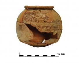 Ceramic vessel 9. Grave 29. Cemetery of Piquía