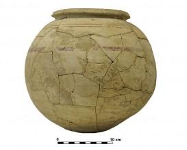 Ceramic vessel 10. Grave 53. Cemetery of Piquía