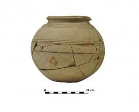 Ceramic vessel 11. Grave 37. Cemetery of Piquía