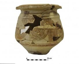 Ceramic vessel 12. Grave 65. Cemetery of Piquía
