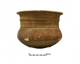 Ceramic vessel 14. Grave 65. Cemetery of Piquía