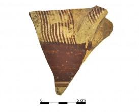 Ceramic vessel 013-1. Oppidum Puente Tablas