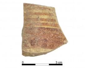 Ceramic vessel 022-1. Oppidum Puente Tablas