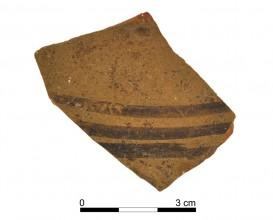 Ceramic cerámico vessel 091-1. Oppidum Puente Tablas