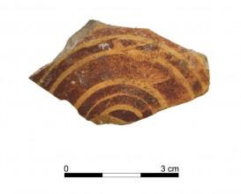 Ceramic vessel 118-1. Oppidum Puente Tablas