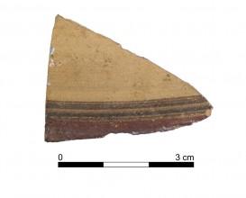 Ceramic vessel 139-8. Oppidum Puente Tablas