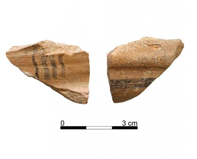 Ceramic vessel 139-9. Oppidum Puente Tablas