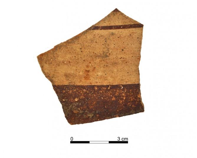 Ceramic vessel 149-4. Oppidum Puente Tablas