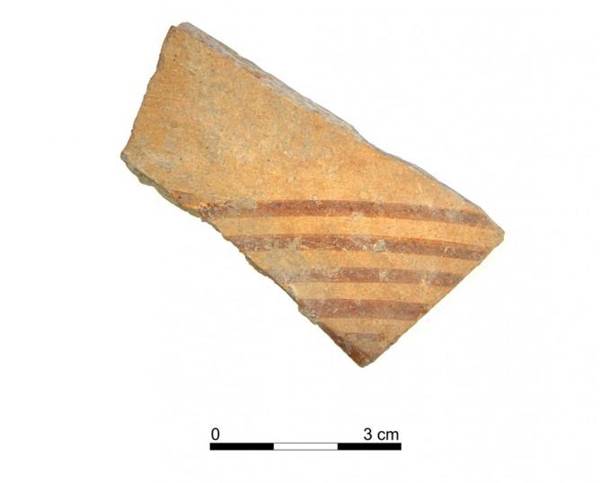 Ceramic vessel 108-1. Oppidum Puente Tablas