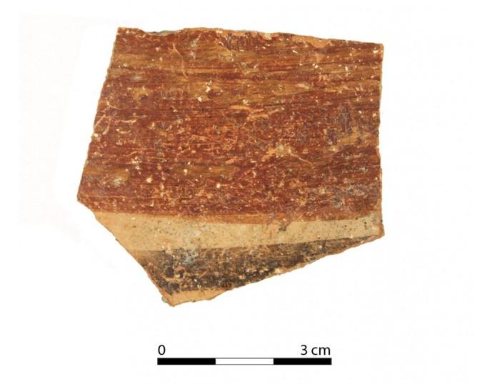 Ceramic vessel 2100-1. Oppidum Puente Tablas