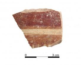 Recipiente cerámico 206-1. Cueva de la Lobera