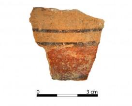 Ceramic vessel 325-1. Oppidum Puente Tablas