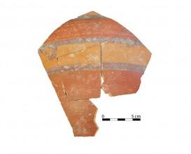 Ceramic vessel 261. Oppidum Puente Tablas