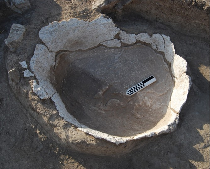 Small oval-shaped structure 2151-1. Oppidum Puente Tablas