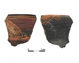 Ceramic vessel 0110. Oppidum Puente Tablas