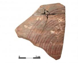 Ceramic vessel 55. Cueva de la Lobera