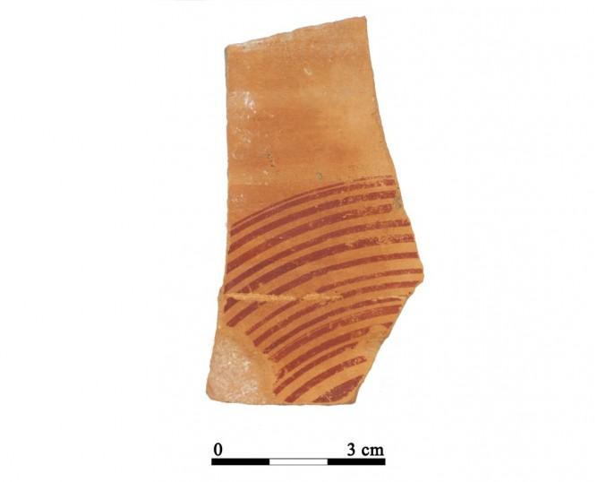 Recipiente cerámico 30-1-2. Cueva de la Lobera