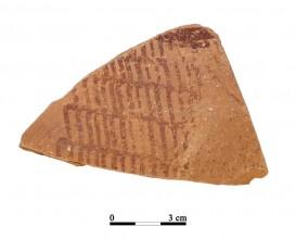 Recipiente cerámico 13-1-1. Cueva de la Lobera
