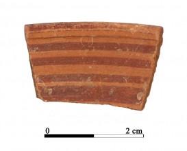 Recipiente cerámico 13-1-3. Cueva de la Lobera
